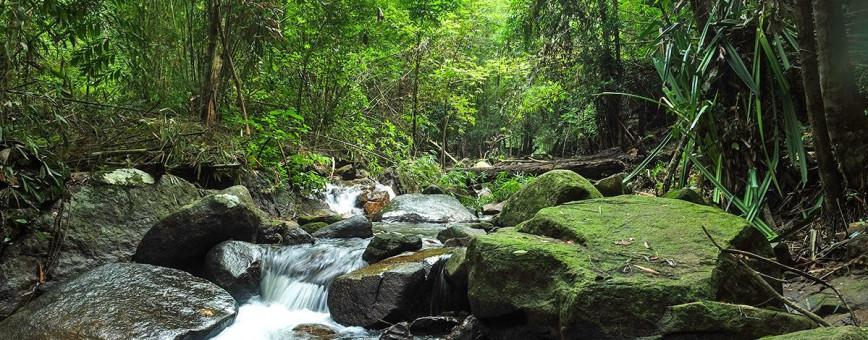 Водопад Банг Пэ (Bang Pae) на Пхукете