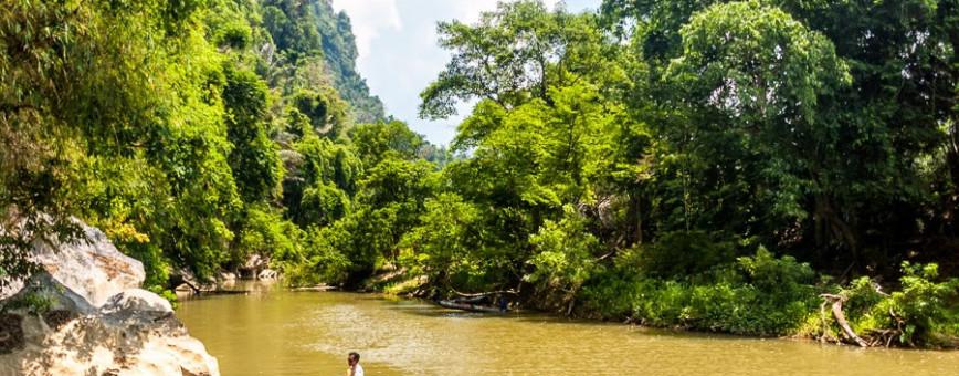 Река Кхао Сок