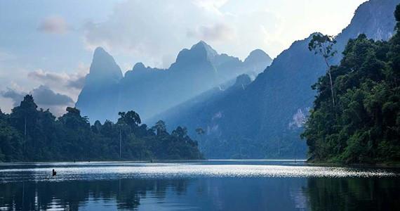 Парк Као Сок и озеро Чео Лан