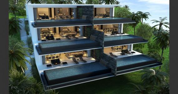 Апартаменты на пляже Лайян