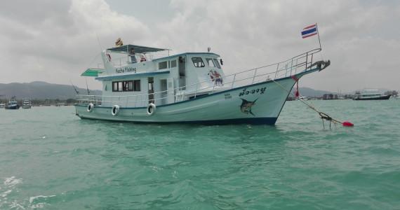 Катер для морской рыбалки