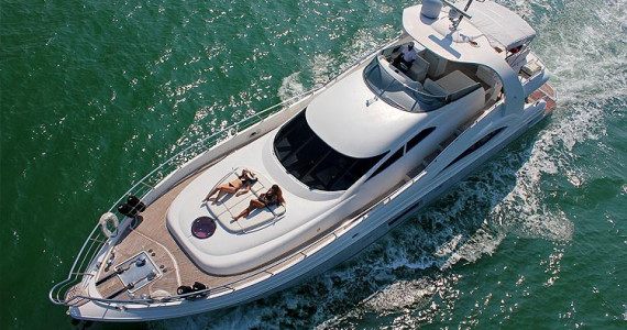 Роскошная яхта Olympia 76