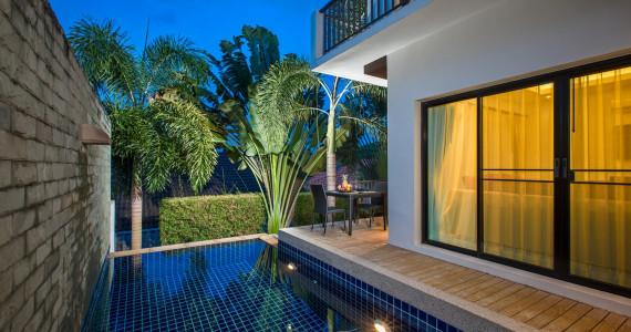 Захватывающая Villa Emauha с бассейном и тропическим садом NH0035