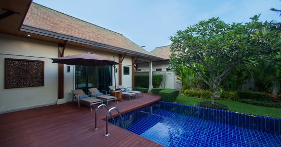 Villa atarata на Пхукете с 3 спальнями и тропическим садом с бассейном NH0047
