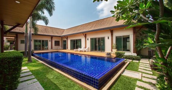 Шестиместная Villa Hatiti недалеко от пляжа Найхарн NH0051