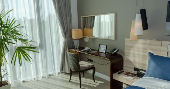 Односпальные апартаменты Делюкс в Лагуне LG0012