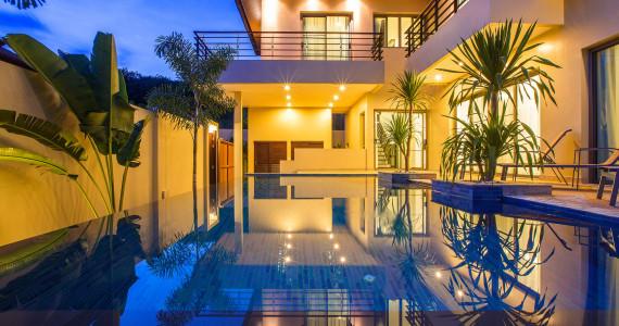 Эксклюзивная Villa Damar с бассейном и садом на 3 спальни NH0090
