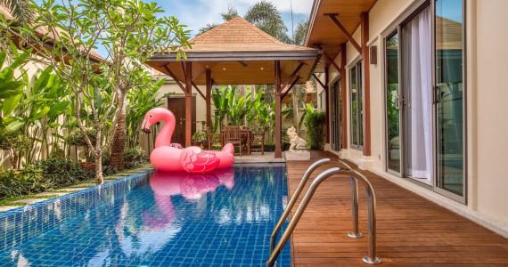 Тропическая Villa Buton для 6 гостей на пляже Най Харн NH0048o