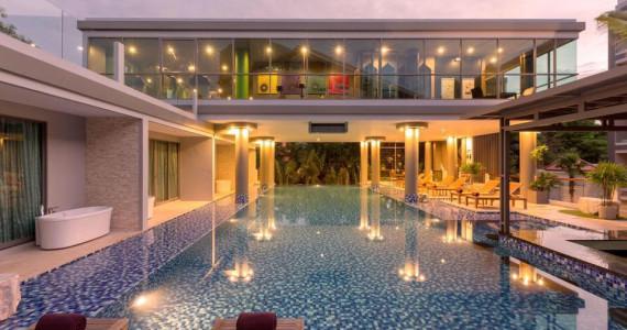 Просторные двуспальные апартаменты  на пляже Банг Тао BT0010