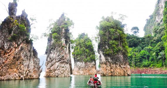Национальный парк Кхао Сок и озеро Чео Лан