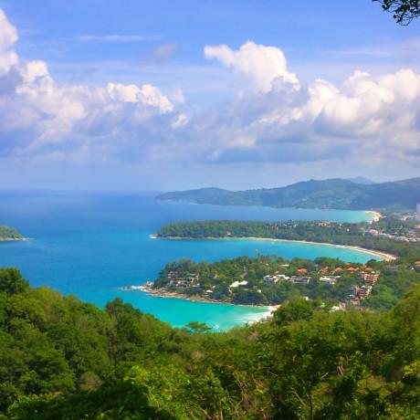 Топ 8 самых популярных пляжа Пхукета. Патонг, Карон, Ката, Ката Ной, Калим, Фридом, Три Транг, Парадайз