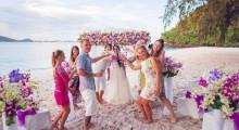 Комбинированные свадебные церемонии (тайская+европейская)