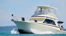 Яхта для рыбалки класса люкс