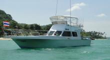Яхта для профессиональной морской рыбалки