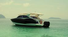 Новый скоростной катер (аренда катера на Пхукете)