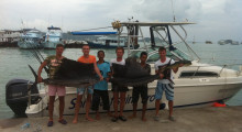 Профессиональная рыбалка на Пхукете. Скоростной катер