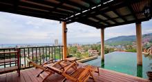 Красивейшая вилла с 3 спальнями и панорамным видом на холмы и море KR0001