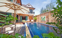 Превью - Элегантная вилла с 3-мя спальнями, собственным бассейном и тропическим садом на пляже Банг Тао BT0013