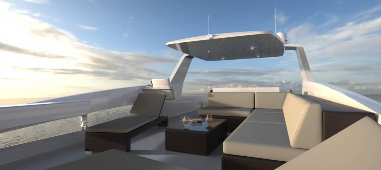 OVERBLUE Концептуальная супер-яхта