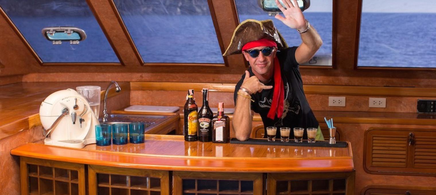 Пиратское приключение на борту эксклюзивного катамарана