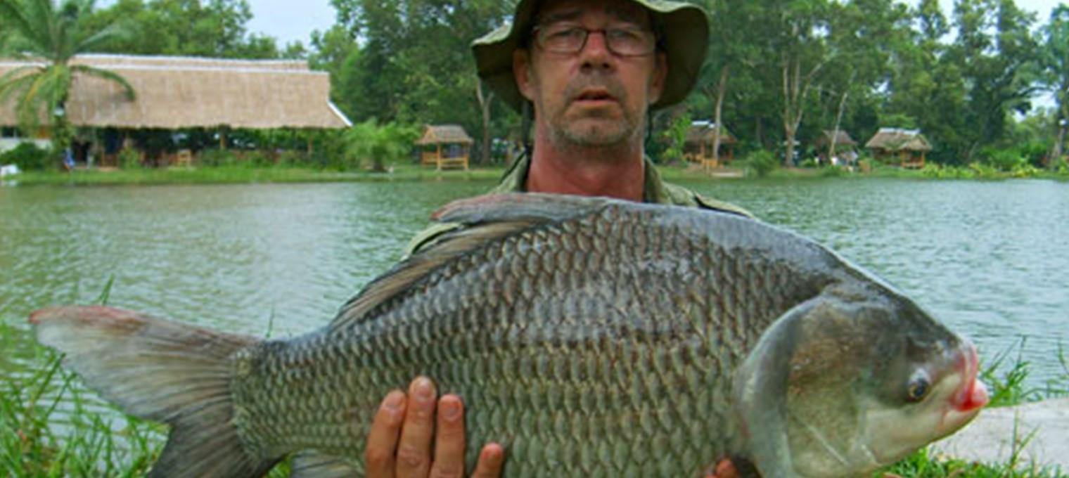 Озерная рыбалка на острове Пхукет