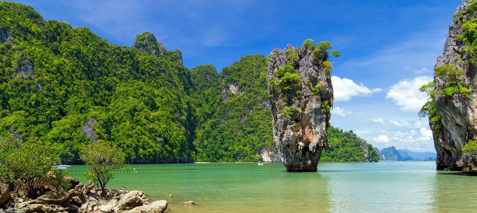 11 островов  и остров Ранг Яй