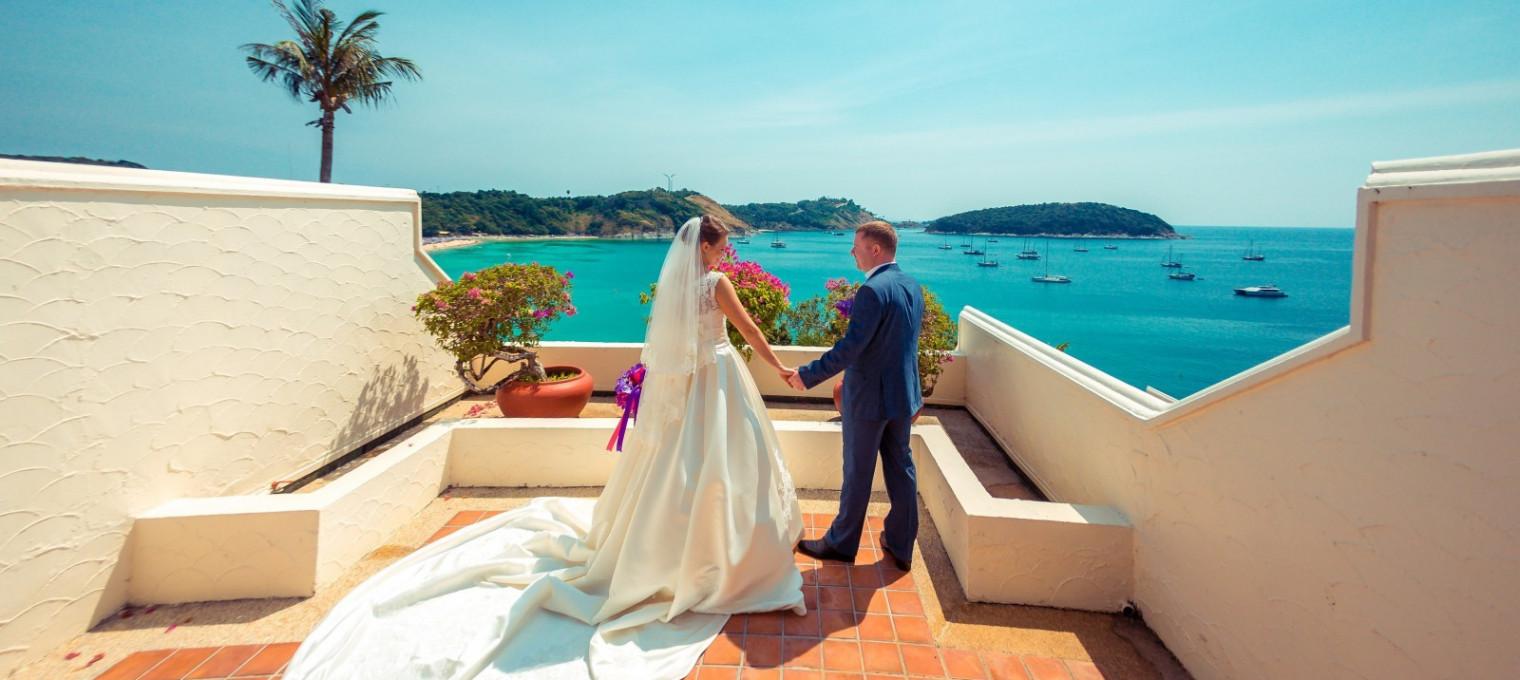 Свадебная церемония в Европейском стиле на Пхукете