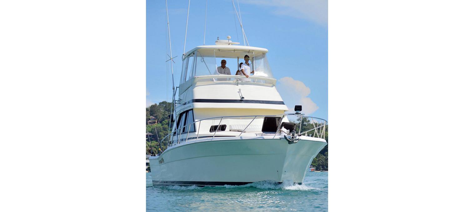 Лодка для морской рыбалки
