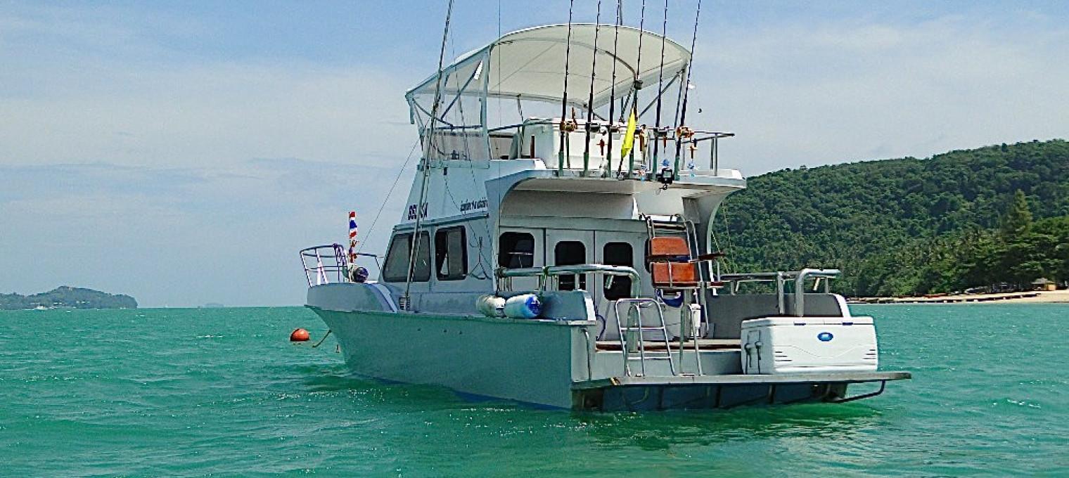 Профессиональная рыбалка на скоростном катере