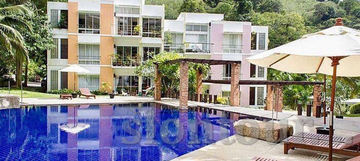 М10015 Апартаменты с 3 спальнями на пляже Камала