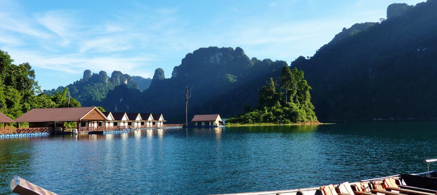 Национальный парк Кхао Сок и озеро Чео Лан (бунгало)