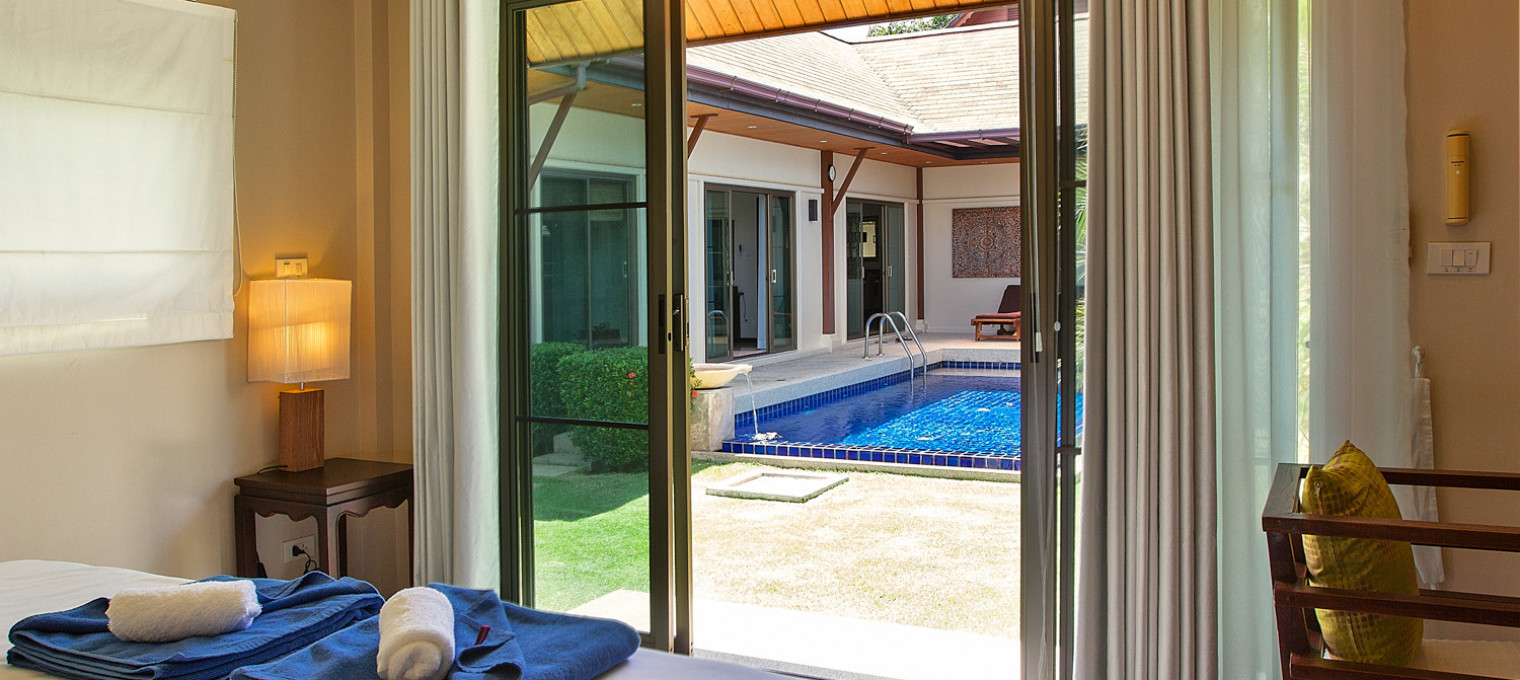 Villa Balai на Найхарне с собственным бассейном и террасой NH0039