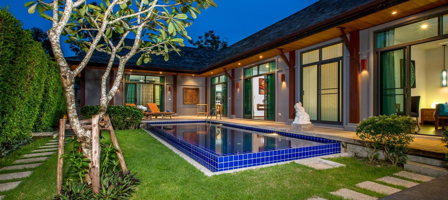 Изысканная трехспальная Villa Natuna на Най Харне NH0044