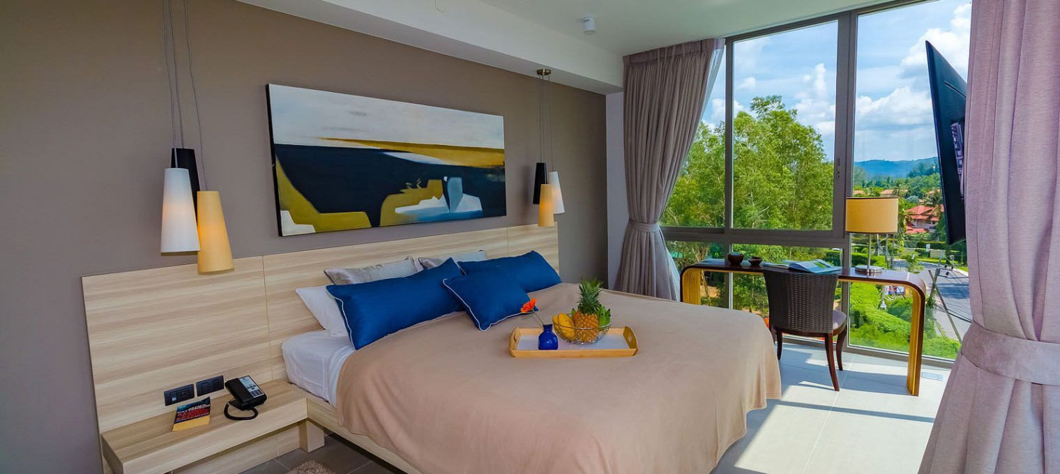 Двуспальные апартаменты Делюкс в Лагуне LG0008