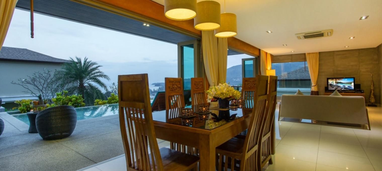 Трехспальная  вилла Tantawan на Камале KM0002