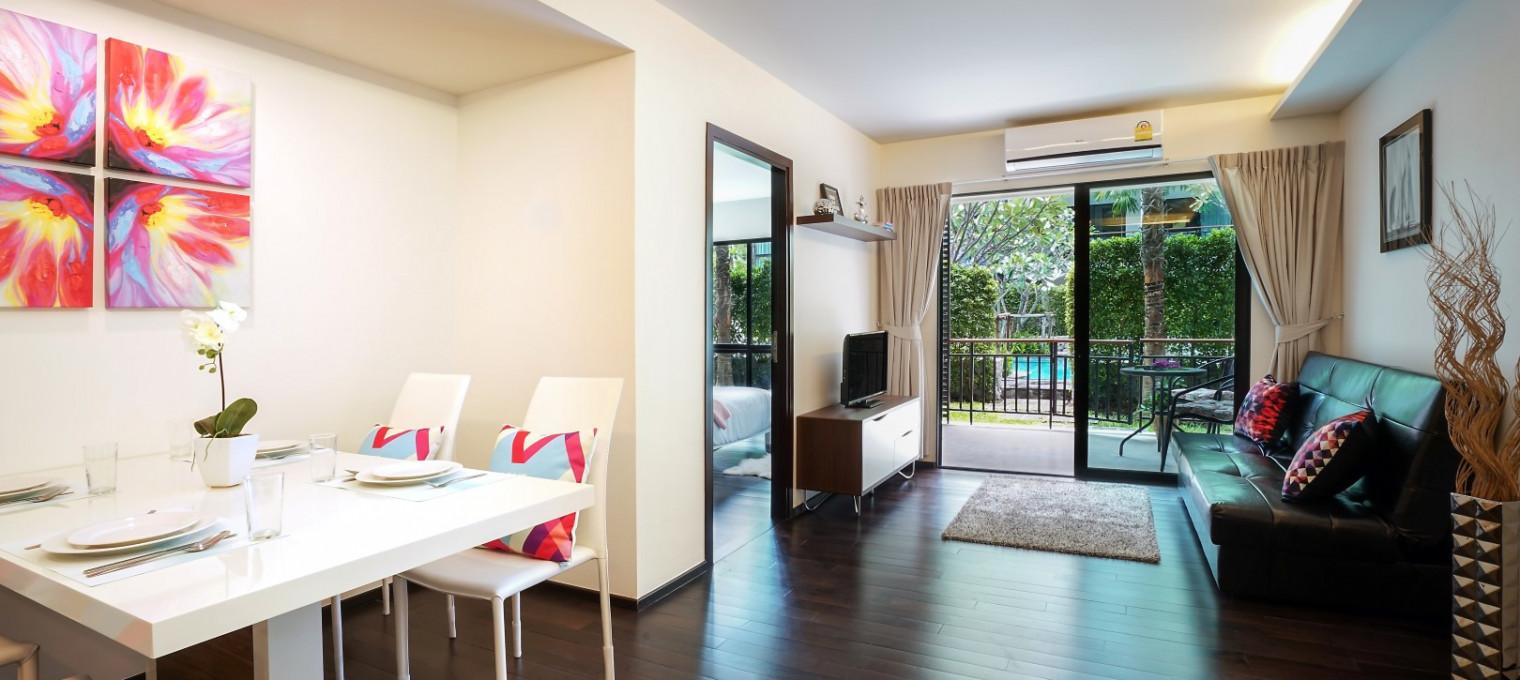 Апартаменты с двумя спальнями на пляже Раваи The Title C107 NH0063