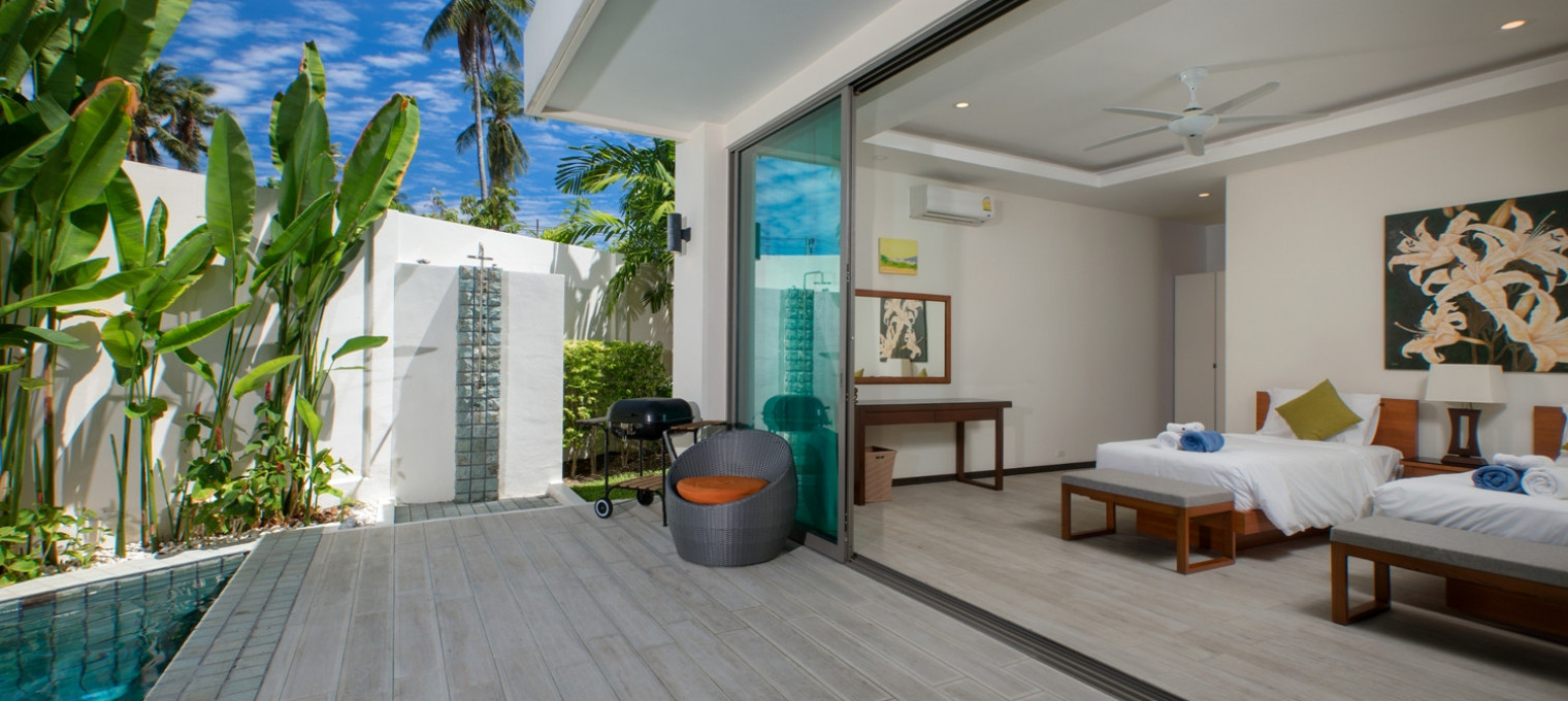 Большая 4-спальная VIlla BAWAL на пляже Раваи RW0067