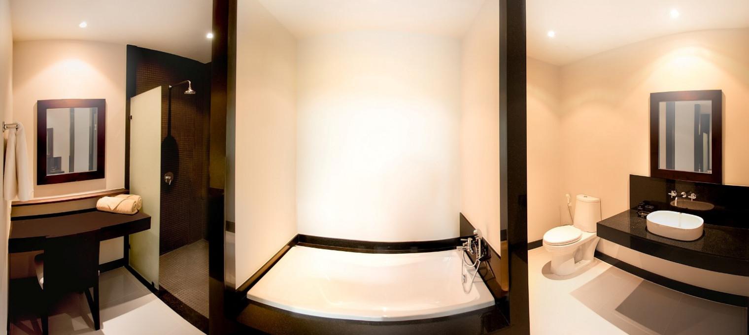 Красивая двуспальная Вилла Ata на Най Харне NH0073