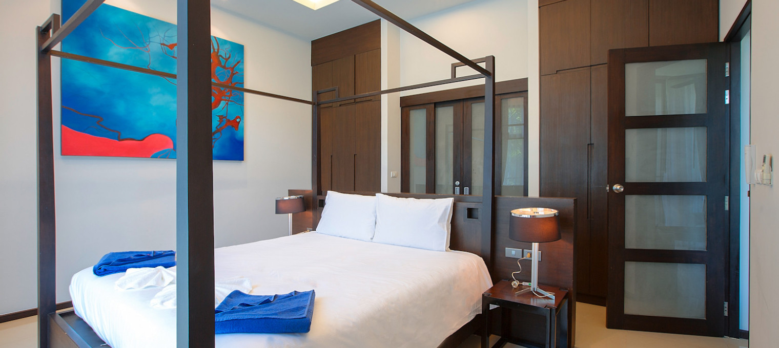 Двуспальная Вилла Hinako в азиатком стиле на пляже Найхарн NH0080