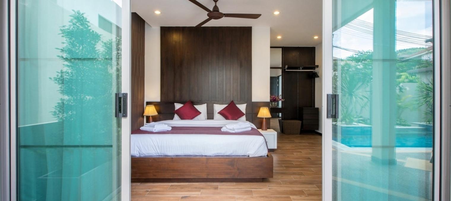 Villa Kepa c 2 спальнями на Най Харне NH0092
