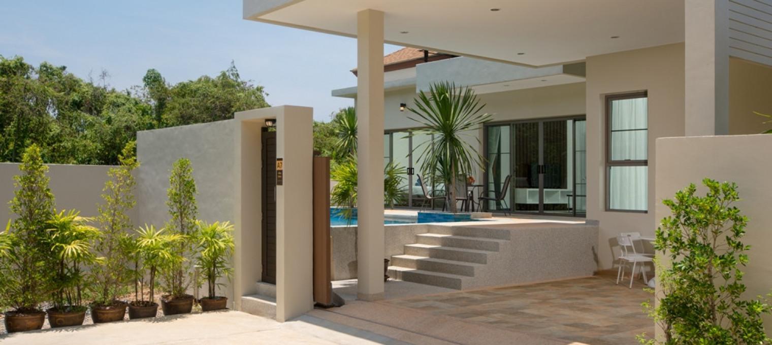 Villa Solor на Пхукете с видом на собственный бассейн NH0100