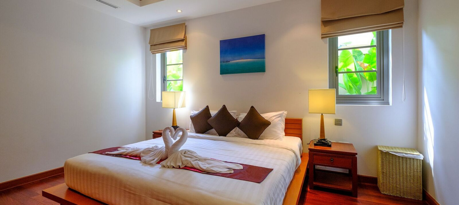 2- спальная Вилла со всеми удобствами на пляже Бангтао BT003