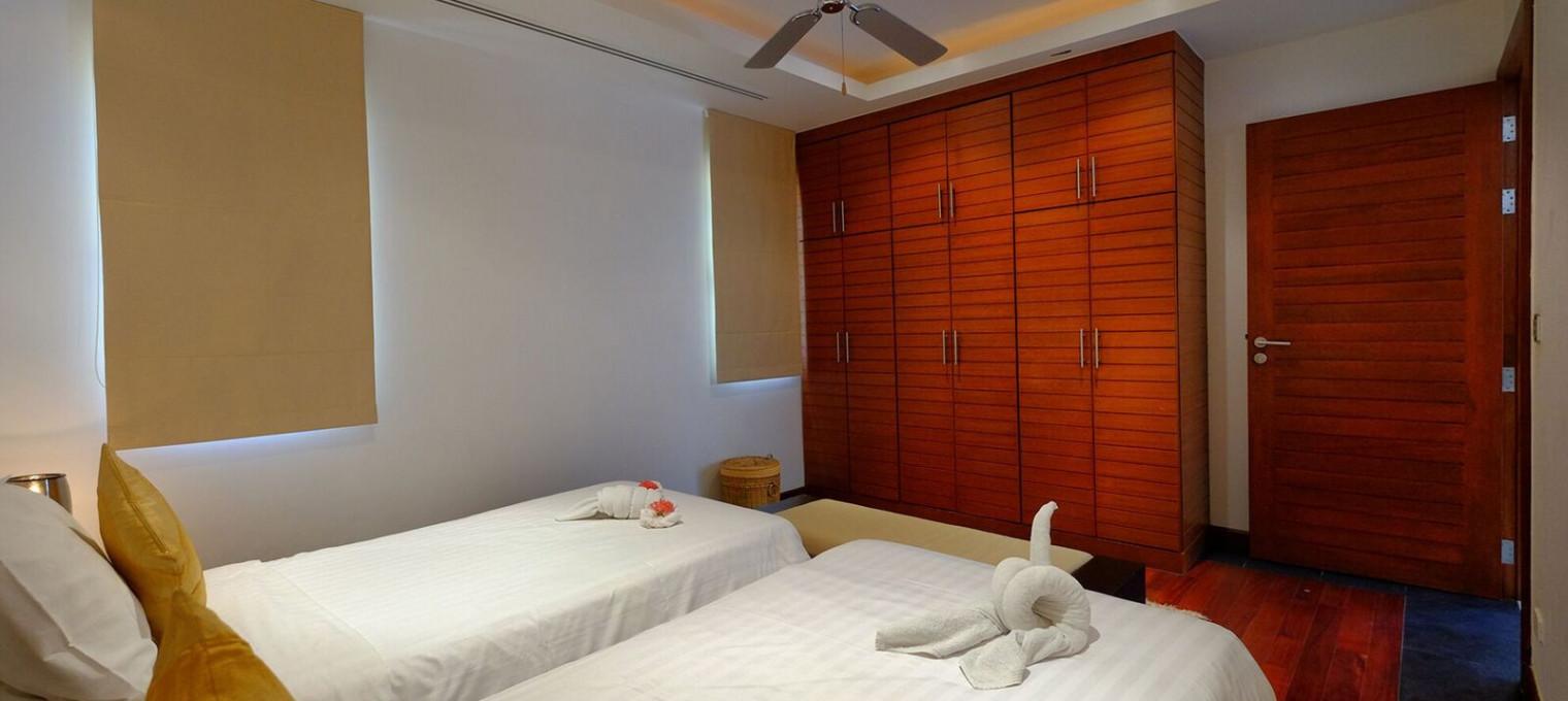 Двуспальная резиденция со всеми удобствами на пляже Найтон NT0016
