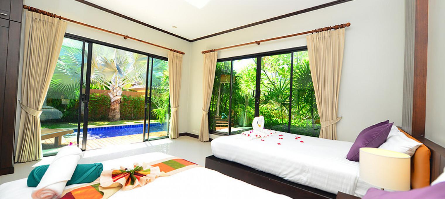 4-спальная садовая вилла на Най Харне NH0117