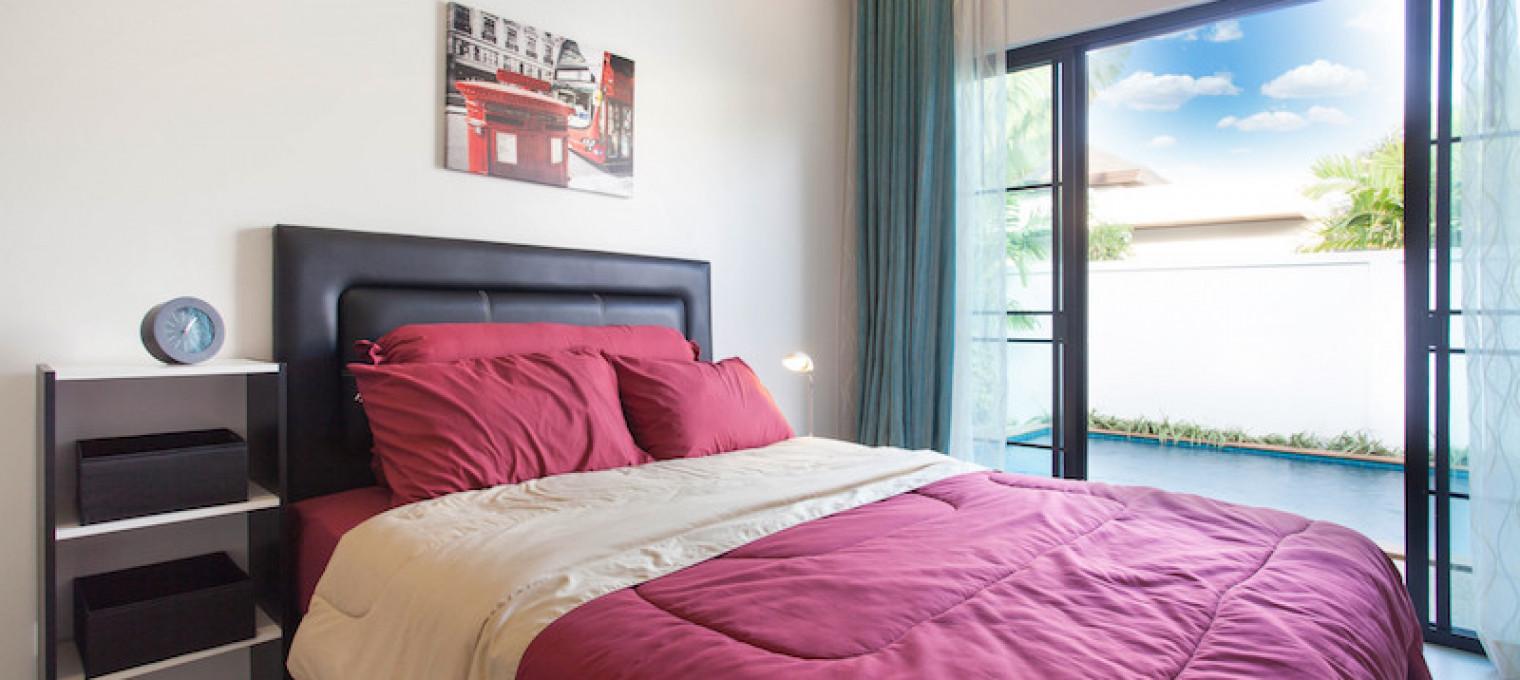 Тропическая вилла с 3 спальнями на пляже Раваи RW0084