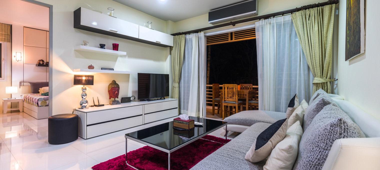 Королевские 2-спальные апартаменты  на пляже Камала KМ0005