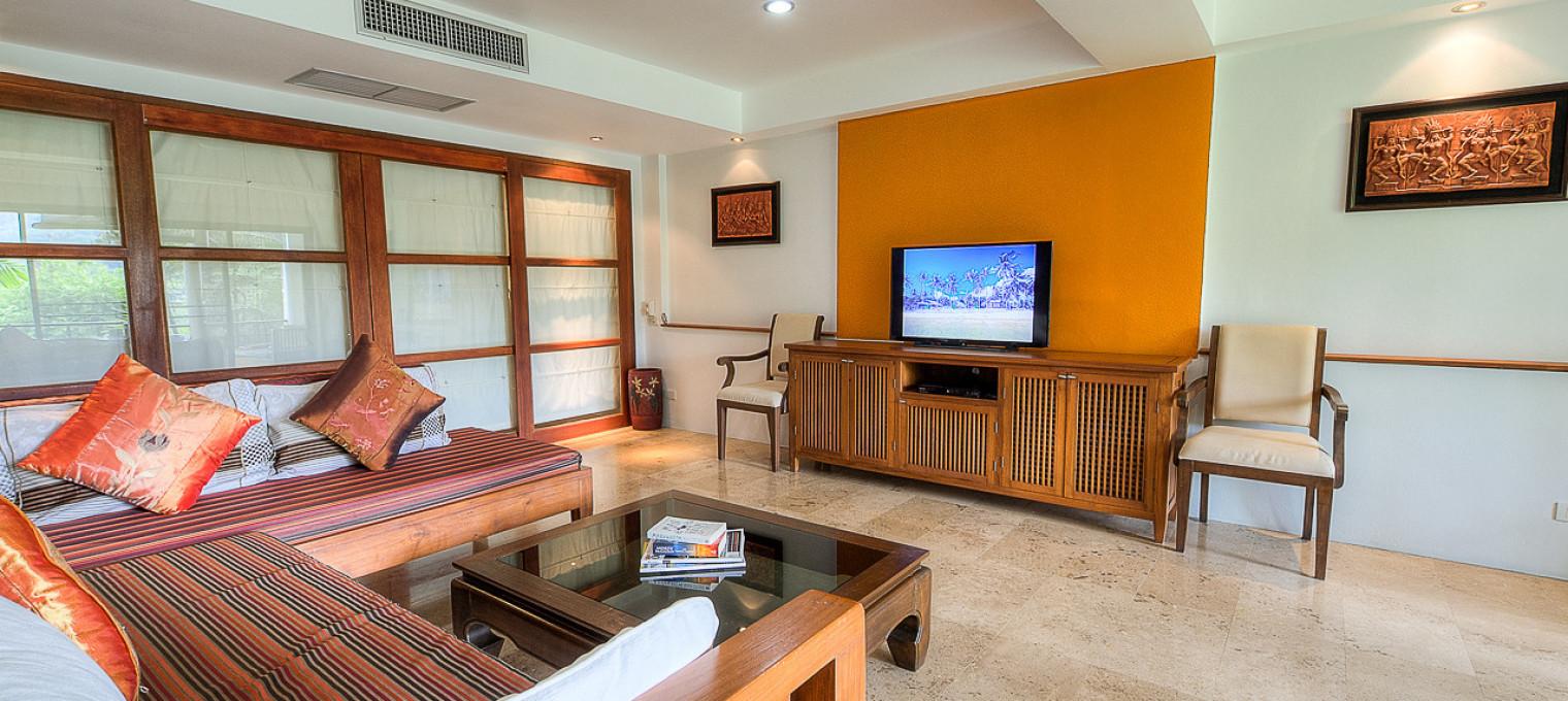 Двуспальные пляжные апартаменты на Най Харне NH0135