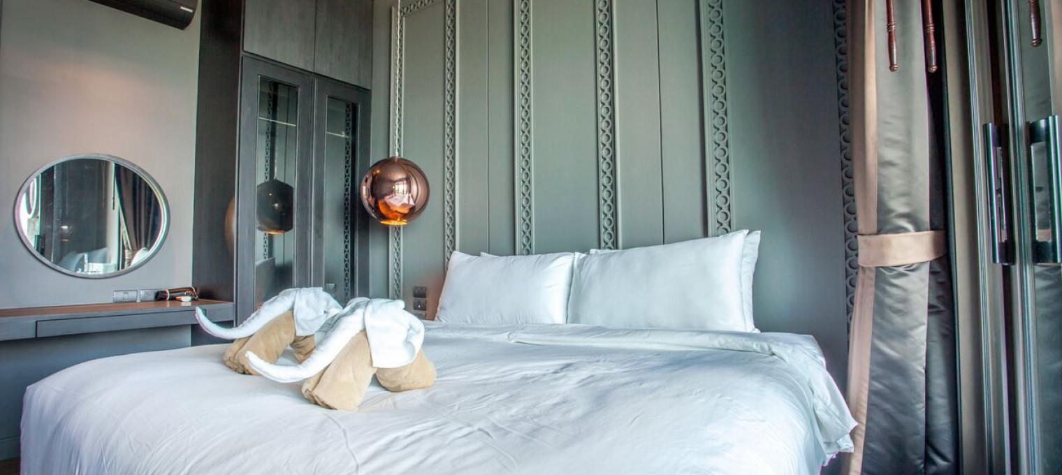 1-спальные апартаменты с видом на море  на пляже Раваи RW0090