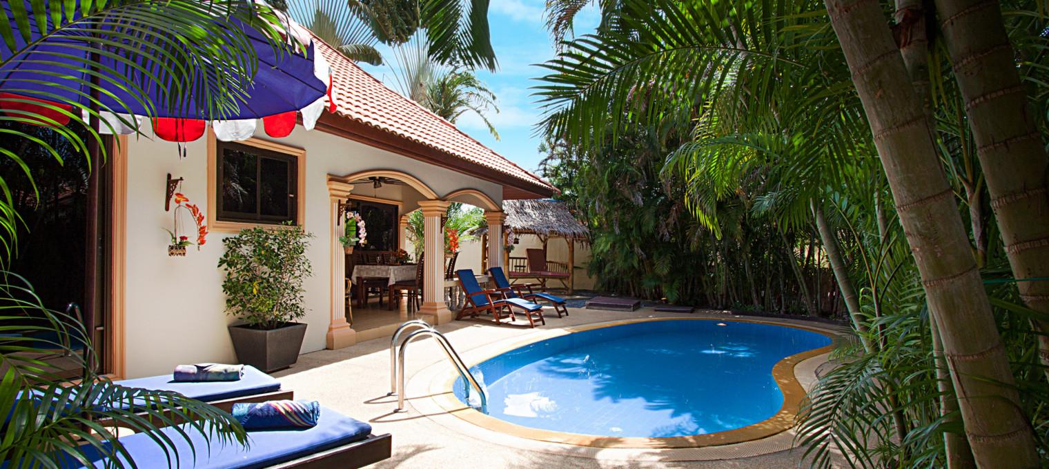 Великолепная безмятежная вилла с бассейном на Раваи RW0098