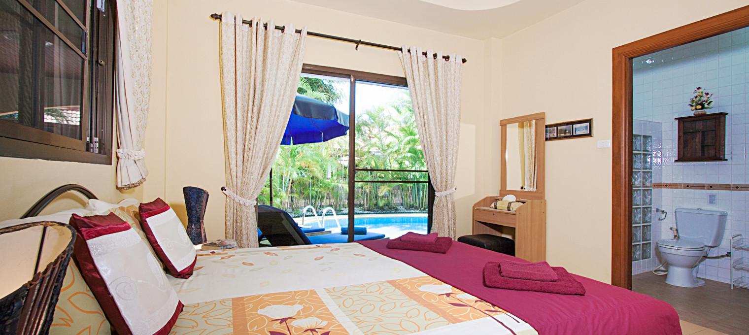 Уединённая вилла с 2-мя спальнями и собственным бассейном на Раваи RW0099